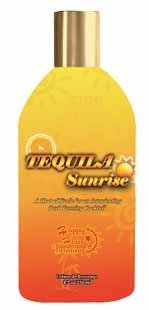 Tequila Sunrise Hot Tingle Tanning Lotion