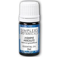 Living Flower Essences Simplers Botanicals Absolute, Jasmine, 0.06 Fluid Ounce