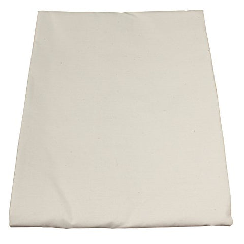 Body Linen Massage Table Poly/Cotton Flat Sheet - 55% Polyester, 45% Cotton - 58 x 94 inches - Natural