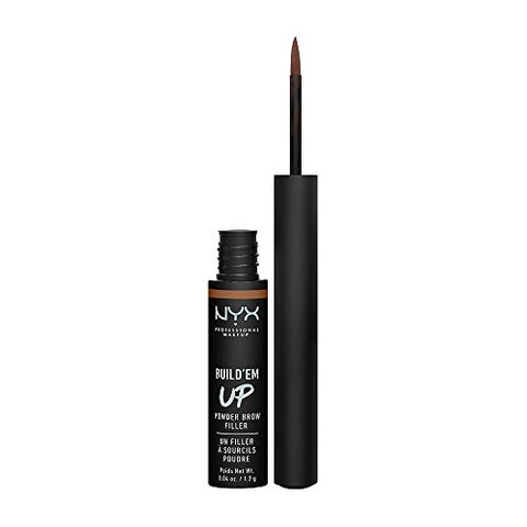 NYX Cosmetics Build'em Up Powder Brow Filler, Soft Brown, Full Size