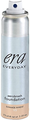 ERA Everyday Aerobrush Foundation Makeup, Y5 Summer Wheat, 2.25 Ounce
