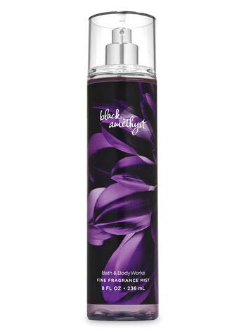 Bath and Body Works NEW 2019 Black Amethyst - Deluxe Gift Set Body Lotion - Body Cream - Fragrance Mist and Shower Gel - Full Size