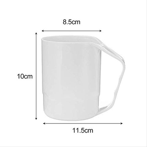 Toothbrush Cup Household Plastic Cup Toothbrush Cup With Handle Plastic Water Cup