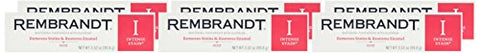 Rembrandt Intense Stain Whitening Toothpaste with Fluoride, Mint, 3.52 Fluid Ounce (Pack of 6)