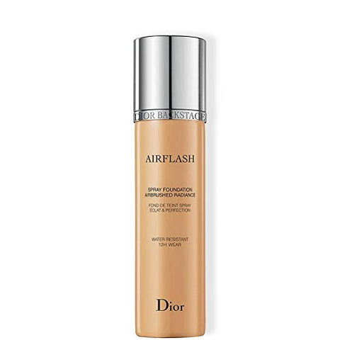 Dior Backstage Airflash Spray Foundation 321 Amber Beige (Light to medium: warm olive undertone) 2.3 oz