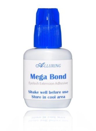 New ALLURING MEGA Bond Glue Eyelash Extensions Strong & Fast Adhesive (10ml)