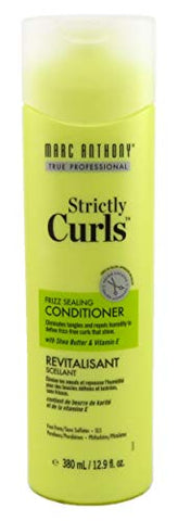 Marc Anthony Strictly Curls Conditioner 12.9 Ounce (No Sulfate) (381ml) (3 Pack)