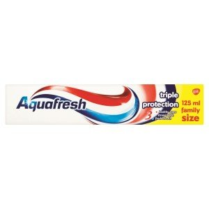 Aquafresh Toothpaste - Triple Protection 125ml (Pack of 12)