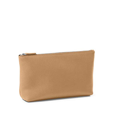 Leatherology Camel Medium Accessories Pouch