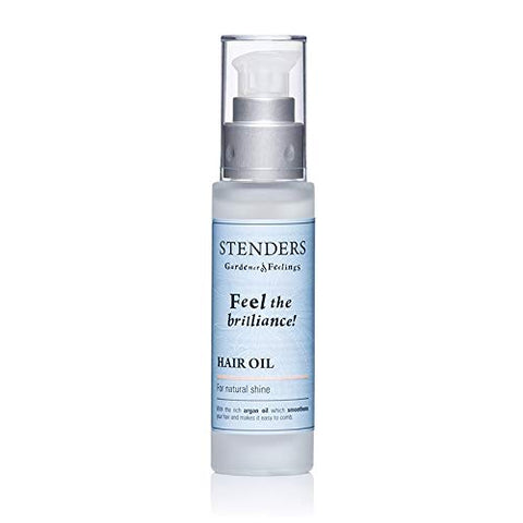 Stenders Feel the Brilliance Hair Oil For Natural Shine Essence Delightful Oil - Soft and light care for damaged hair, giving shine and gloss without sticky feeling,50ml