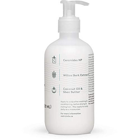 Liv So Moisturizing Lotion   Dermatologist Created   Moisturizes Hair & Scalp   Naturally Derived   F