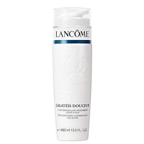 Lancome Galateis Douceur Gentle Softening Cleansing Fluid Face and Eyes, 13.5 Ounce