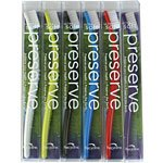 Preserve Soft Preserve 6 Pack Toothbrushes Assorted Colors