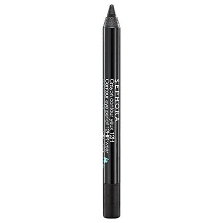 SEPHORA COLLECTION Mini Contour Eye Pencil 12hr Wear Waterproof 01 Black Lace 0.028 oz