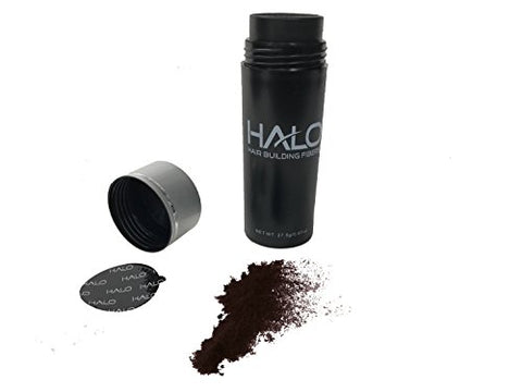 Halo Hair & Beard Building Fibers 27.5g (Black)