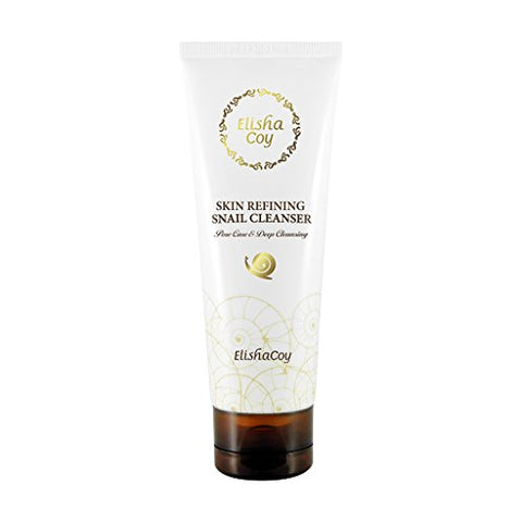 [Ec Elishacoy] Skin Refreshing Snail Cleanser 120g   Sanil Mucin And Ceramide Contains Rich & Creamy