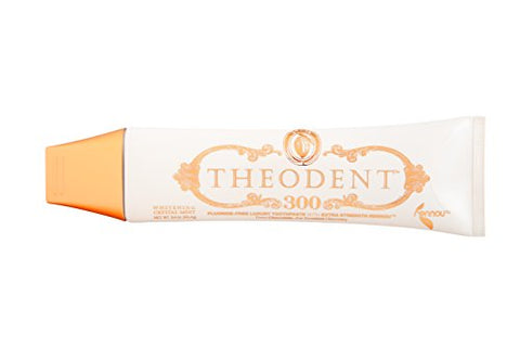 Theodent Whitening Crystal Mint, Clinical Strength, Fluoride-Free Toothpaste Rebuilds