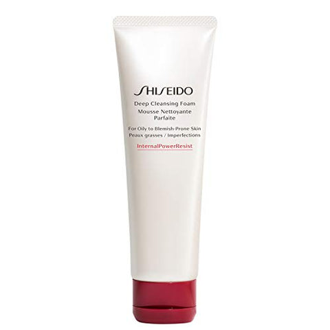 Shiseido Deep Cleansing Foam for Oily to Blemish-Prone Skin 4.4oz / 125ml