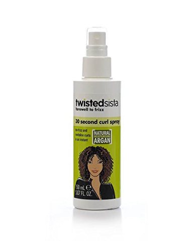 Twisted Sista 30 Second Curl Spray, 5.07 Ounce