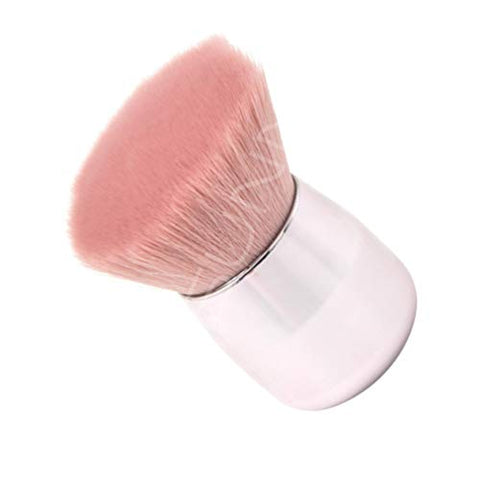 Beaupretty Oblique Cosmetic Makeup Brushes Mushroom Shape Soft Fluffy Loose Mineral Foundation Powder Blush Brush Makeup Tools for Ladies Women