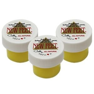 Bette K's New Feet-Trail Size Bette K's 0.75 oz Cream (pack of 3)