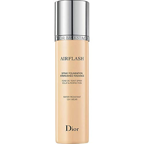 Dior Backstage Airflash Spray Foundation 101 Cream (Very light: warm yellow undertone) 2.3 oz