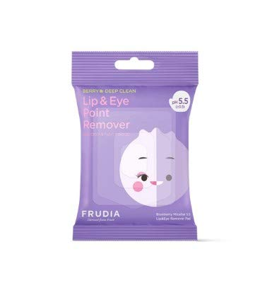 Frudia Blueberry Micellar 5.5 Lip&Eye Remover Pad [30pads] 55g / 1.94 oz.
