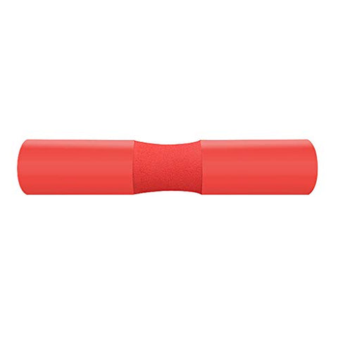 youeneom ?2019 Upgraded?Barbell Squat Pad,Standard Olympic Bars Thick Foam SpongePad Protector, Neck Shoulder Protective Sponge Barbell Mat for Squats, Lunges, Hip Thrusts and Weightlifting (red)