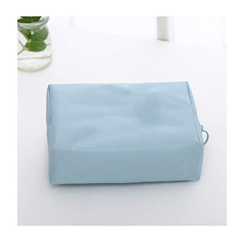 Washing Cosmetic Bag, Travel, Going Out, Must Travel, Seaside Beach Vacation, Travel Goods (Color : Blue B)