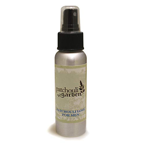 Patchouli Garden - Patchouli Love for Men Perfume Body Spray 2.5 Ounces