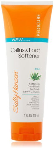 Sally Hansen Pedicure Collection, Intensive Callus Foot Softener, 4 Ounce