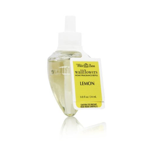 Bath & Body Works Lemon Wallflowers Home Fragrance Refill
