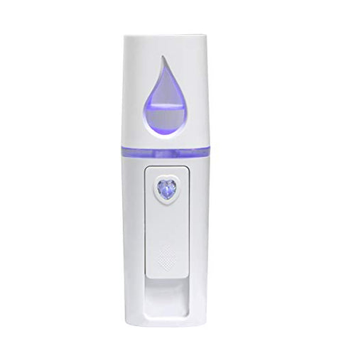 Nano Facial Mister, UrChoice Cool Mist Facial Handy Mist Sprayer with Mirror Design on Top, Moisturizing and Hydrating for Skin Care, Makeup, Eyelash Extensions