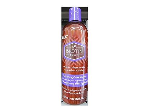Hask Biotin Boost Thickening Conditioner, 12 fl oz (Pack of 2)