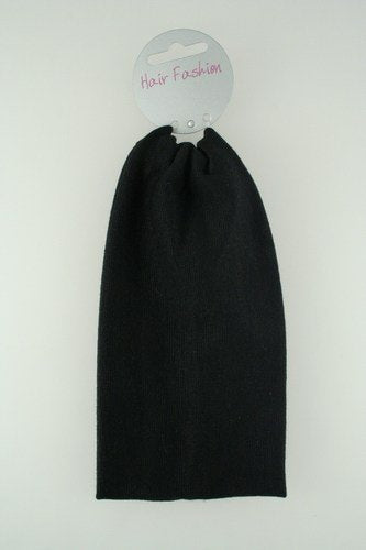 Extra Wide Soft Black Headband approx. 3 3/4""
