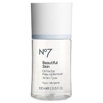 No7174; Beautiful Skin Oil Free Eye Make-Up Remover - 3.3oz