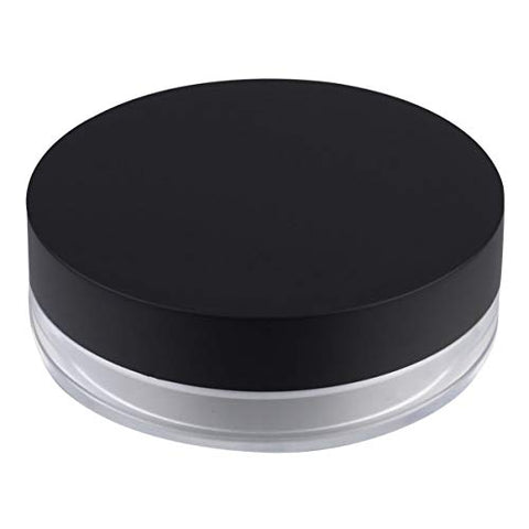 PIXNOR Empty Powder Case Refillable Cosmetic Make-up Loose Powder Box Case Container Holder with Sifter Lids and Powder Puff 20g