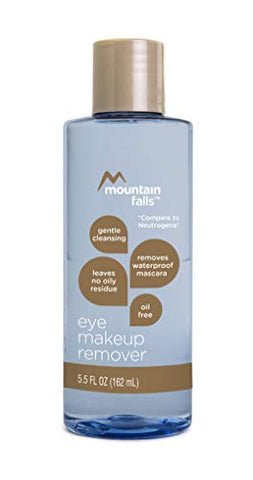 Mountain Falls Oil-Free Gentle Cleansing Eye Makeup Remover, Compare to Neutrogena, 5.5 Fluid Ounce