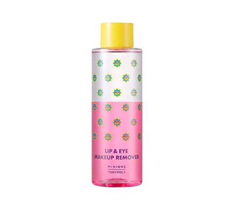 TONYMOLY X MINIONS Lip & Eye Make Up Remover (250ml), 8 oz.