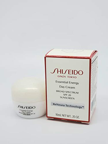 Shiseido Essential Energy Day Cream SPF 20 10ml / 0.35 Oz 2pc = 20ml