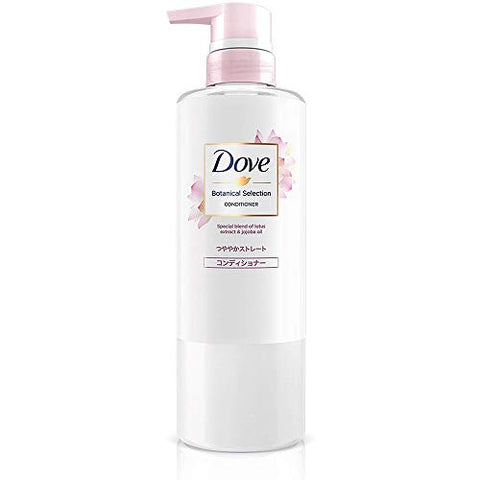 Dove Botanical Selection Glossy Straight Conditioner Pump 500g (Green Tea Set)