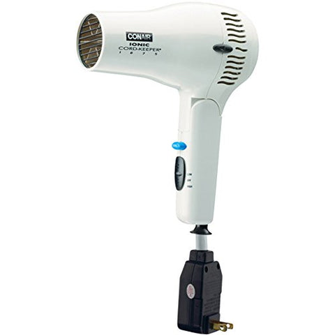 Conair 169WIW White Cord Keeper Hair Dryer - 1875W