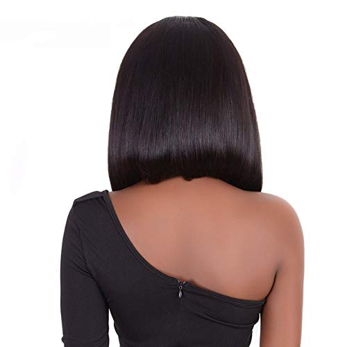 Brazilian Wig Straight Short Bob Lace Front Wigs 13x4 Lace Front Human Ninthavenue Europe