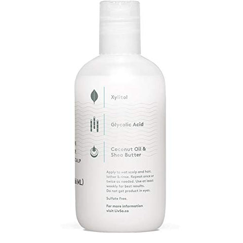 Liv So Moisturizing Shampoo   Dermatologist Created   Moisturizes Hair & Scalp   Naturally Derived