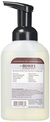 Mrs. Meyer's Foaming Hand Saop, Lavender, 10 Fl Oz (Pack   6)