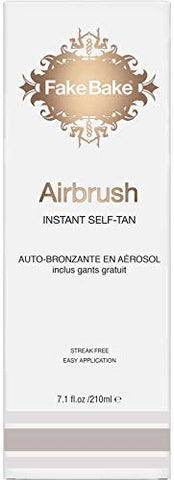 Fake Bake Air Brush Instant Self Tan, 7 oz (2 Pack)
