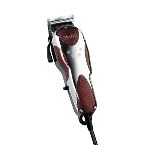 Wahl Professional 5-Star Magic Clip #8451 ?? Great for Barbers and Stylists ?? Precision Fade Clipper with Zero Overlap Adjustable Blades, V9000 Cool-Running Motor, Variable Taper and Texture Settin