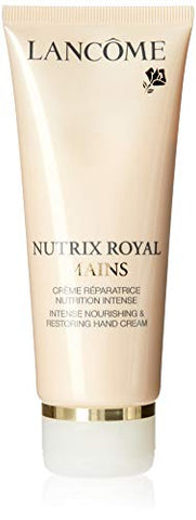 Lancome Nutrix Royal Mains Intense Nourishing and Restoring Hand Cream Prevents Damage First Signs Aging, 3.4 Ounce