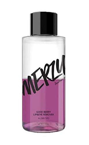 MERZY Good Berry Lip & Eye Remover 210ml-Contains Blue Complex and Berry extracts That moisturize and Nourish The Delicate Lip and Eye Areas