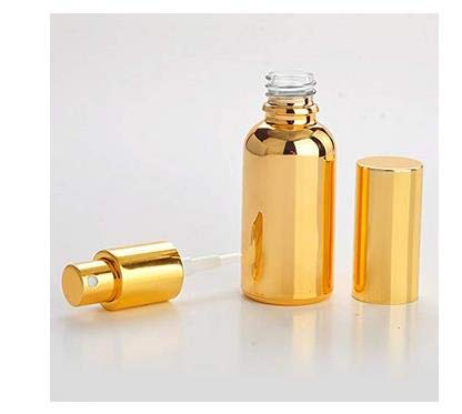 2PCS 30ml Empty Refillable Electrified Aluminum Perfume Sample Spray Botter Jar With Glass Inner And Fine Atomizer for Travel Use